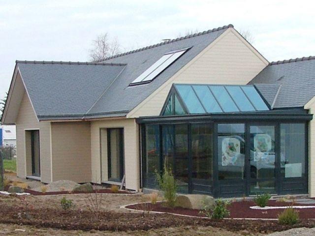 Exceptionnel Une maison individuelle à énergie positive FU98