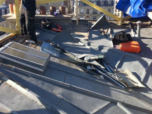 Duplex avec terrasse - Toiture en zinc - Reportage duplex terrasse