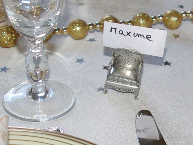 Ne jamais laisser un convive face au vide - Table décorée
