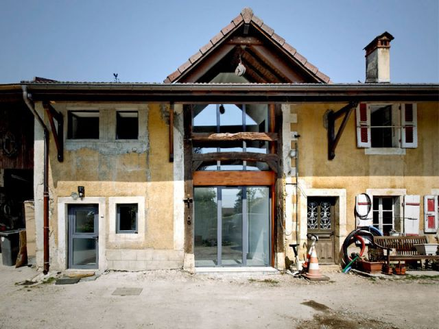 Reportage grange architecteurs