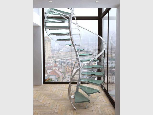 escaliers tour d 39 horizon des configurations possibles. Black Bedroom Furniture Sets. Home Design Ideas