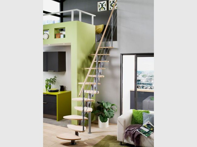 Escaliers tour d 39 horizon des configurations possibles - Escalier colimacon lapeyre ...