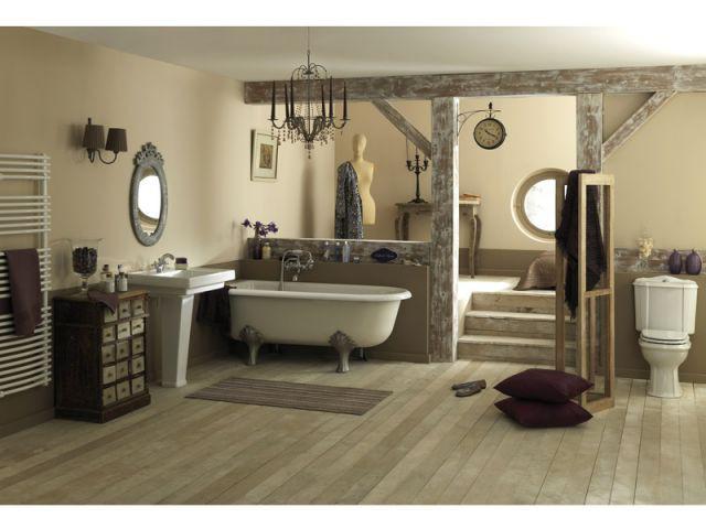 10 salles de bains fondues dans le d cor for Brossette salle de bain