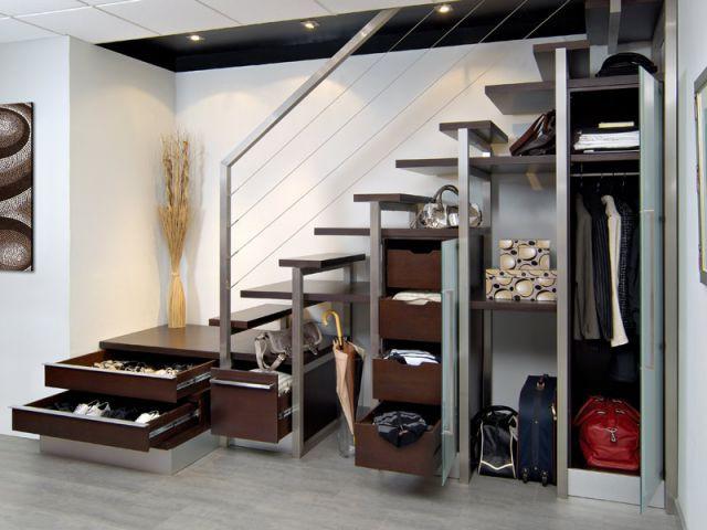 10 Solutions Pour Aménager L'Espace Sous L'Escalier