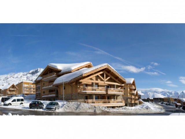 Sous la neige - le Cristal d'Alpe