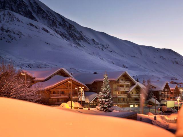 De nuit - le Cristal d'Alpe