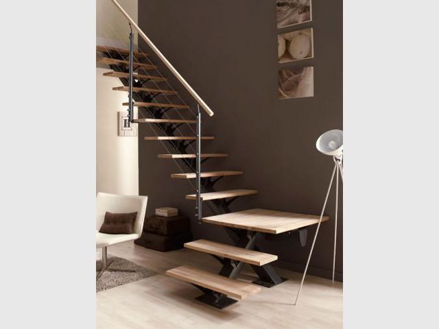 Tout savoir sur les escaliers en 10 questions for Leroy merlin escalier escamotable