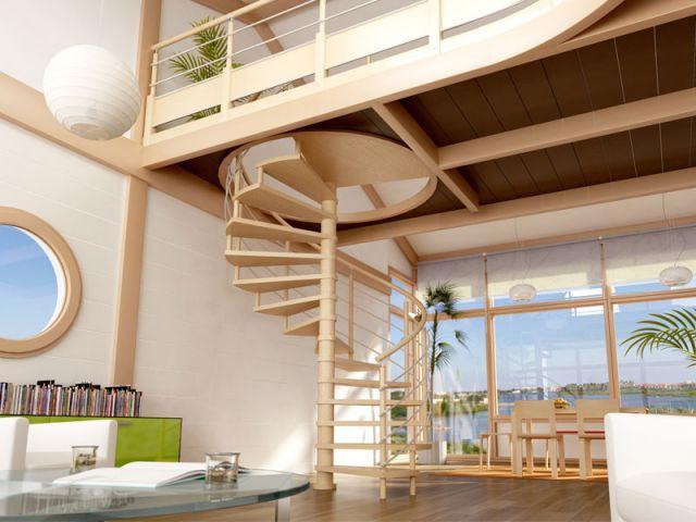 Tout savoir sur les escaliers en 10 questions for Escalier interieur leroy merlin