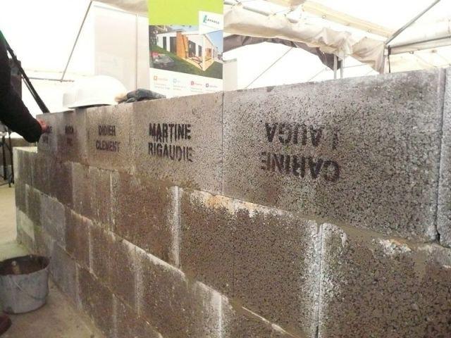 Mur de pierres - cecile robin