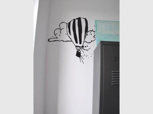 La montgolfière - Mel et Kio