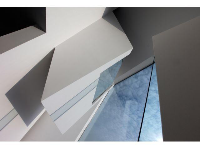 Maison Menten et Biekens - vue depuis l'intérieur - 9 architectes / 9 propositions