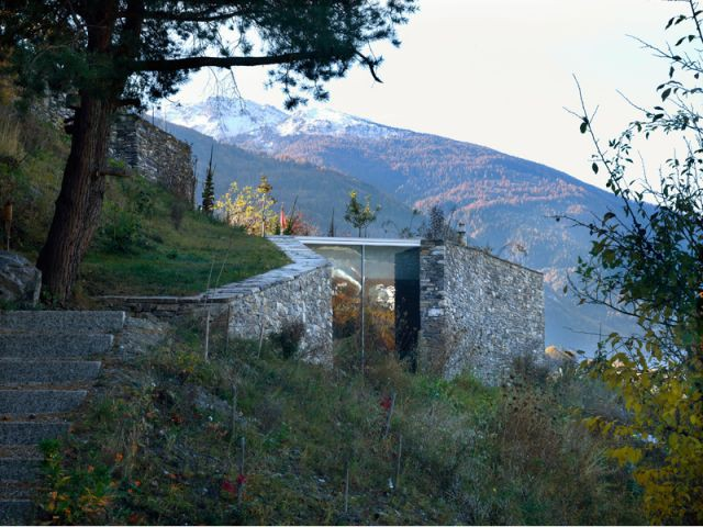 Pavillon d'été du petit lac - autre vue - 9 architectes / 9 propositions