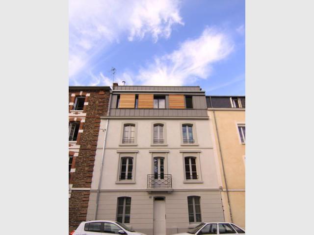 Libérer les espaces - Maison DPLG / Rennes / reportage