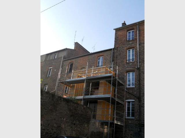Créer des volumes contemporains  - Maison DPLG / Rennes / reportage