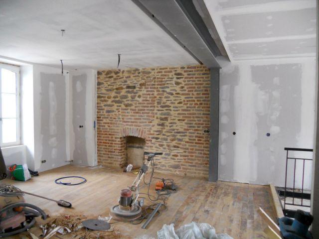 transformer une ancienne maison bourgeoise en loft. Black Bedroom Furniture Sets. Home Design Ideas