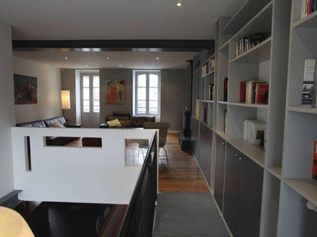 Le salon - Maison DPLG / Rennes / reportage