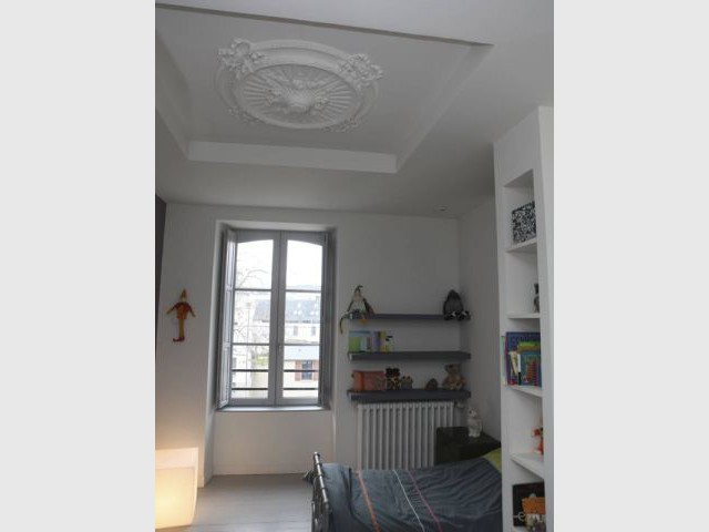 Chambres - Maison DPLG / Rennes / reportage