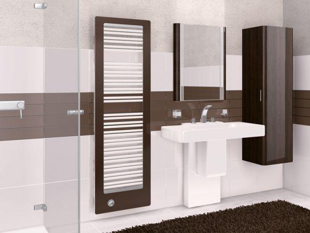 Sèche-serviette coloré pour la salle de bains - Chauffage salle de bains