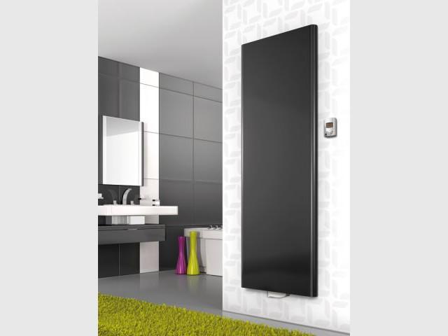 Radiateur ultra plat pour la salle de bains - Chauffage salle de bains