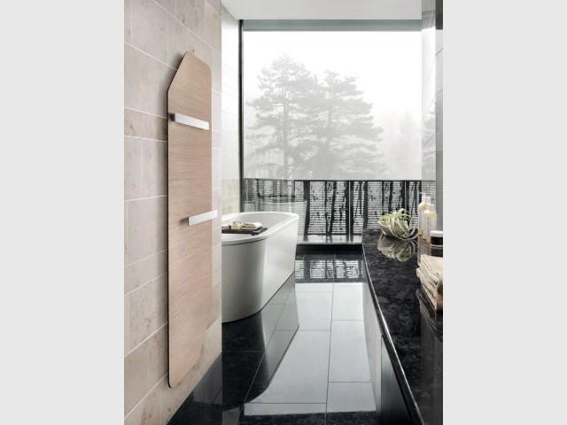 Radiateur ultra-fin pour la salle de bains - Chauffage salle de bains