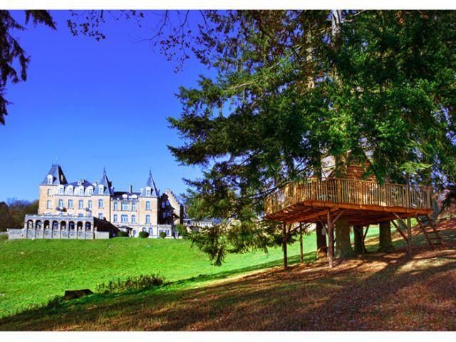 Château de la Poste - La cabane perchée - LoftCube