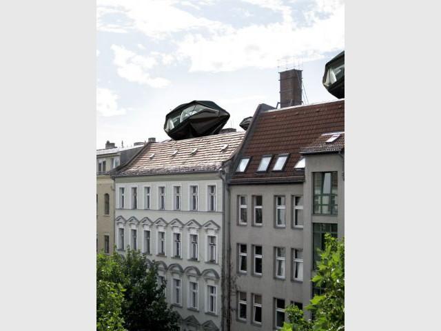Living Roof - Sur le toit des immeubles - Living Roof