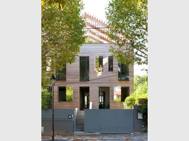 Une maison hors du commun - Maison éco-durable-reportage