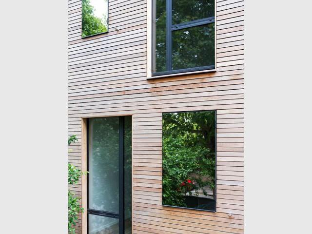 Une maison en lien avec son environnement - Maison éco-durable-reportage