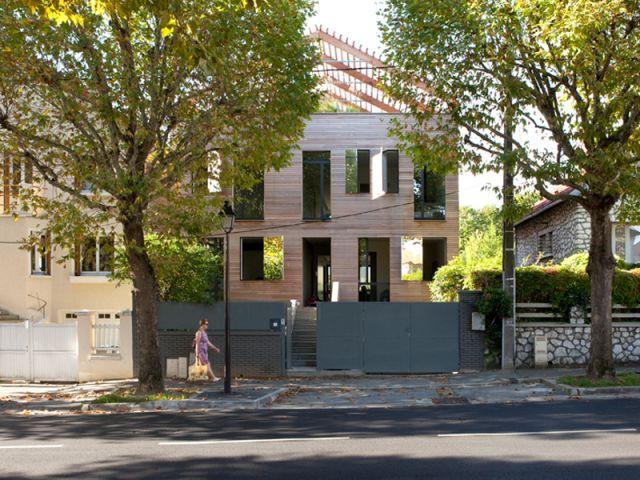 Une maison atypique - Maison éco-durable-reportage