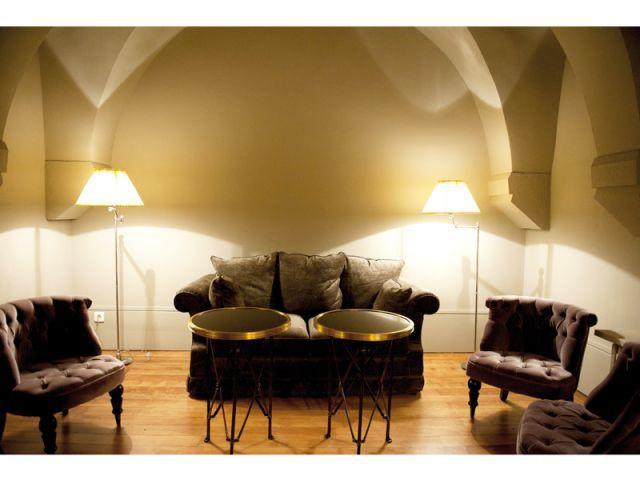 Salon sous les voûtes - Hôtel Le Sauvage à Besançon