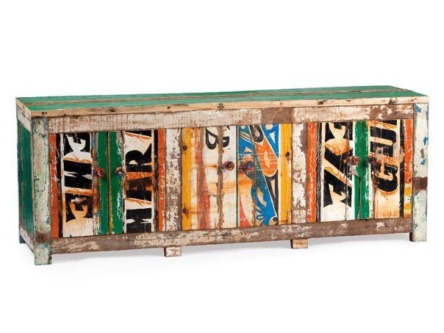 Meuble Joal  - Mobilier bois de bateau