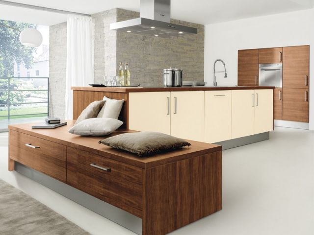 douze cuisines avec lot central douze ambiances. Black Bedroom Furniture Sets. Home Design Ideas