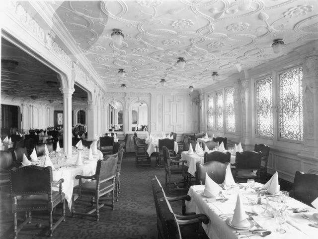 La salle à manger première classe - Titanic
