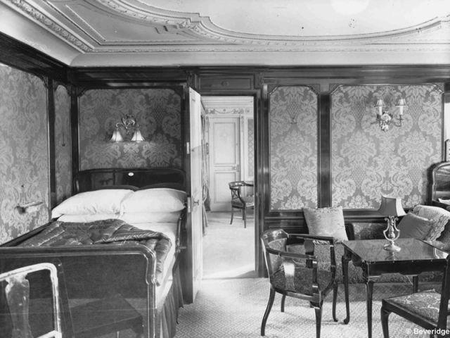 Les cabines première classe - Titanic