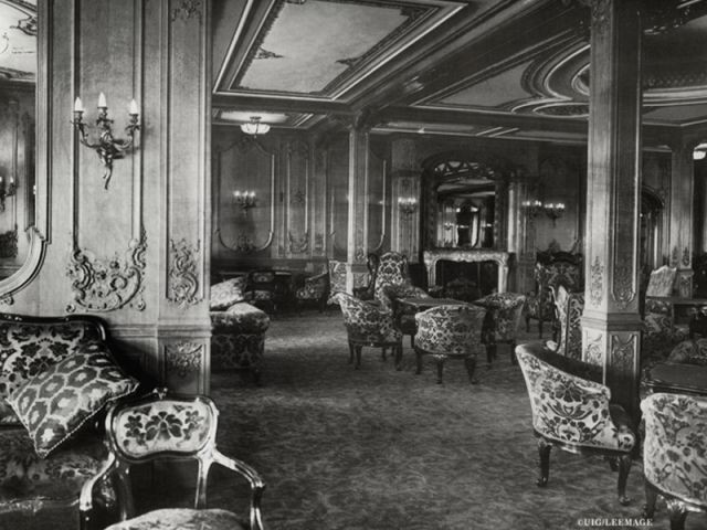 Salon première classe - Titanic