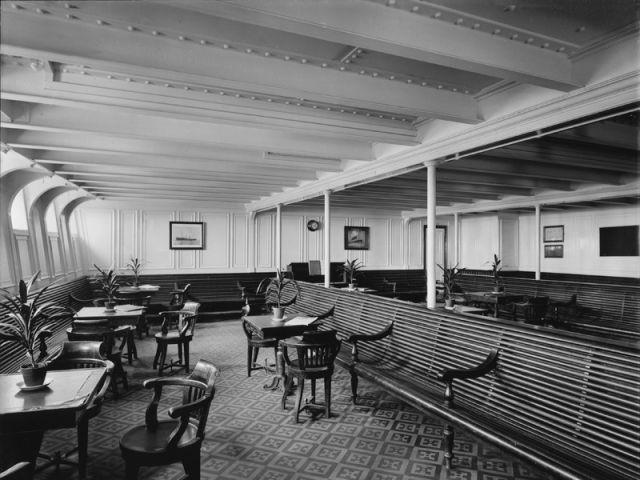 Un espace troisième classe - Titanic
