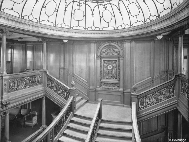 Le grand escalier - Titanic