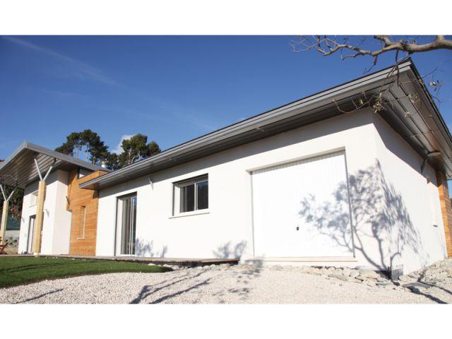 Trois sytèmes de toiture différents - Maison Oxygène