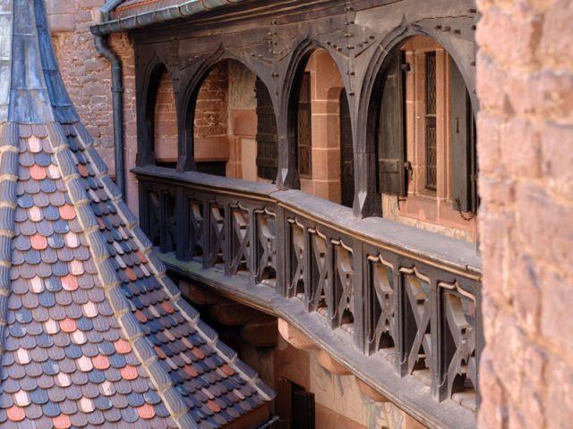 Galeries en bois - Château du Haut Koenigsbourg