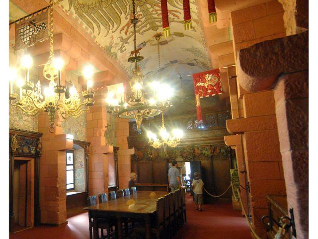 Salle impériale - Château du Haut Koenigsbourg