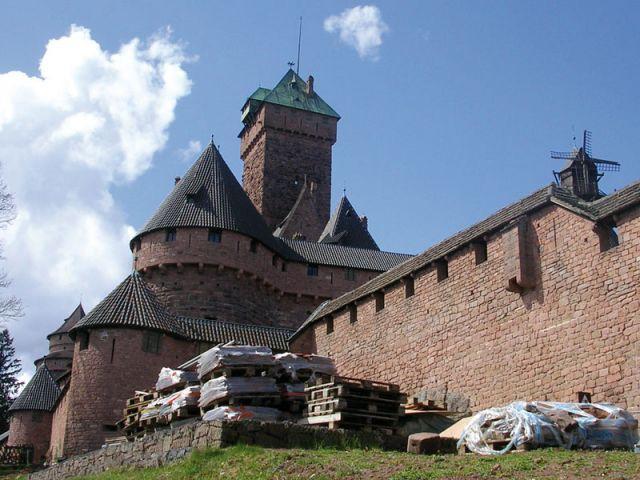 Château du Haut-Koenigsbourg vue d'ensemble - Château du Haut Koenigsbourg