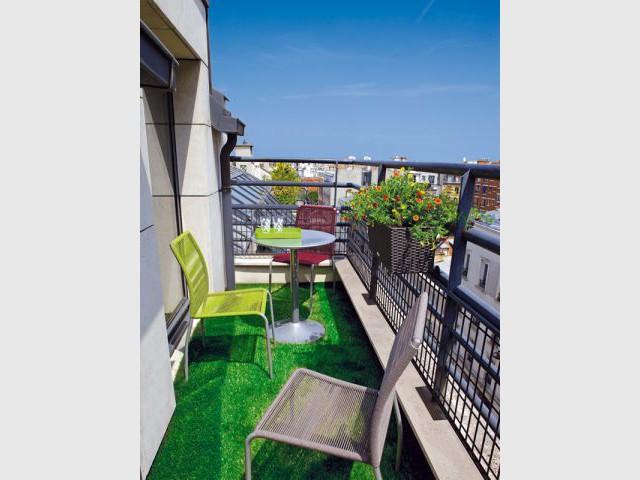 "Ambiance ""Urbain chic"" - balcon"