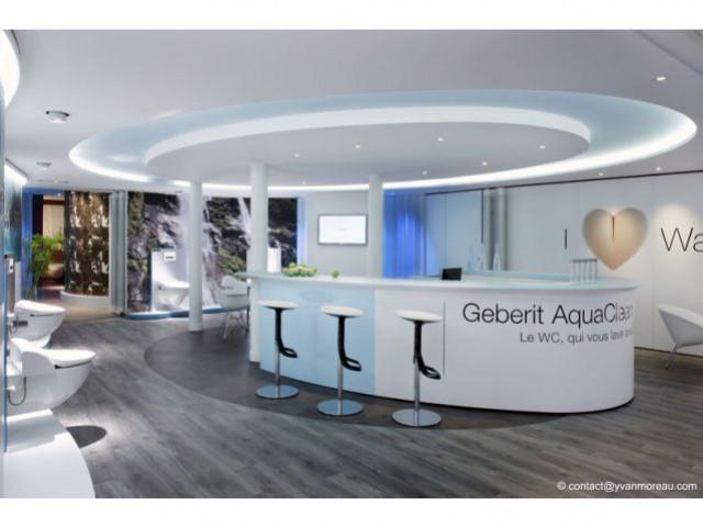 D. et F. Knoll - Show-room Aquaclean Geberit