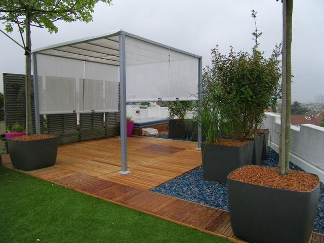 Am nager une terrasse en un v ritable espace de vie - Recouvrir une terrasse carrelee ...