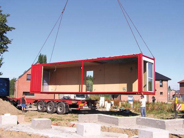 8 conteneurs pour une maison hors du commun for Construction conteneur