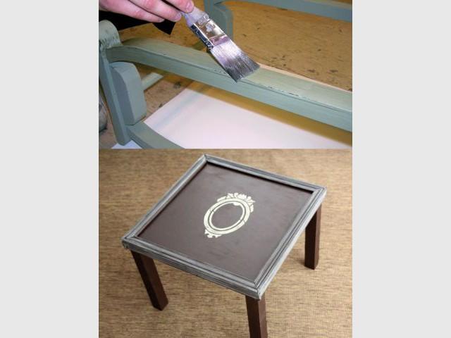 Douze mani res de jouer avec la peinture for Vieillir un meuble peint