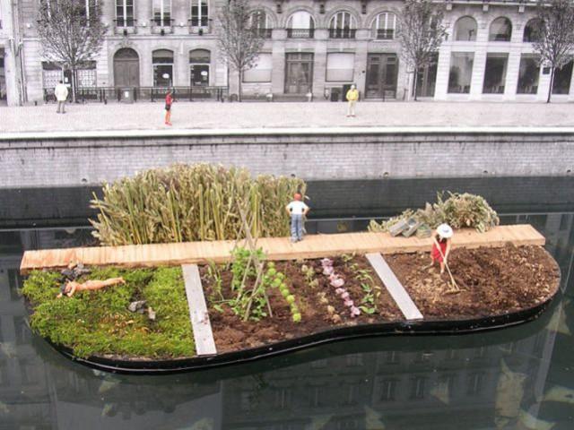 Prix végétal et paysage : Îlot - Concours de l'innovation