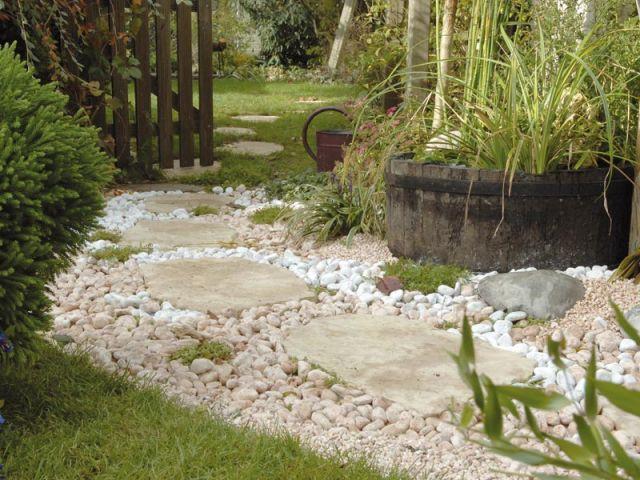 Une all e styl e pour mon jardin - Pas japonais point p ...