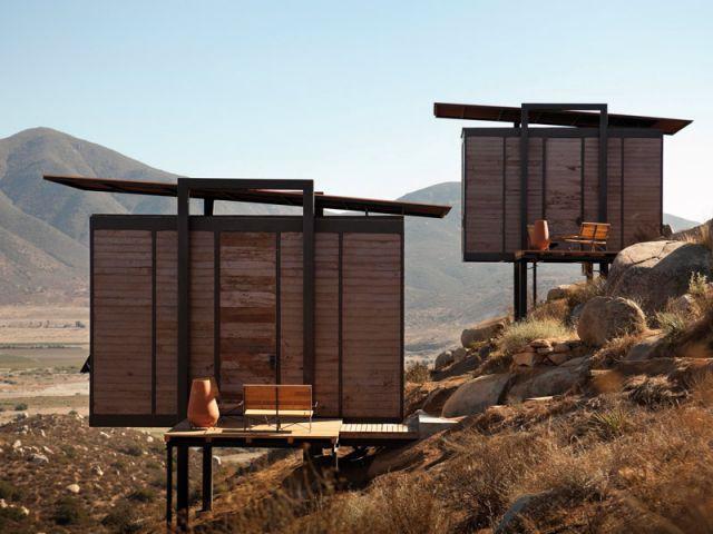 Au mexique des cabines de bois au dessus des nuages for Colline o cabine marroni