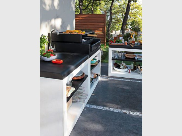 quand la cuisine prend ses quartiers d'été... - maisonapart - Amenager Une Cuisine Exterieure